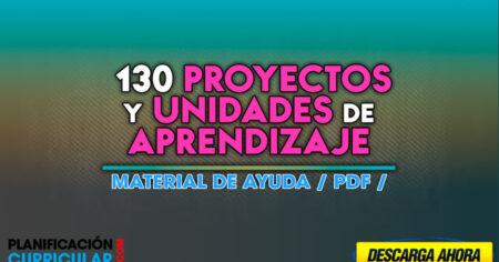 Proyectos y Unidades de aprendizaje UGEL 03