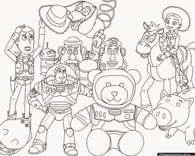 Imágenes Y Dibujos De Toy Story 3 Planificacion Curricular