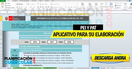 FABULOSO APLICATIVO PARA LA ELABORACIÓN DEL PEI Y PAT- 2020 (COMPLETO)