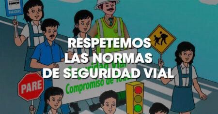 Unidad Didáctica Respetemos las normas de seguridad vial.