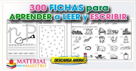 300 ACTIVIDADES PARA APRENDER A LEER Y ESCRIBIR