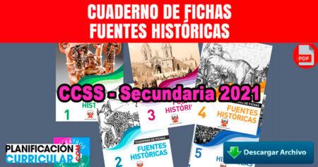 CUADERNILLOS DE CIENCIAS SOCIALES SECUNDARIA 2021