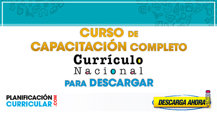 Curso Virtual 2019 Completo Del Currículo Nacional Para