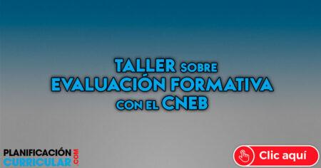 Taller de EVALUACIÓN FORMATIVA con el CNEB 2019