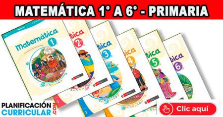MATEMATICA - Cuaderno de Autoaprendizaje PRIMARIA