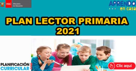 PLAN LECTOR ACTUALIZADO 2021 - LECTURAS SELECCIONADAS PARA EL AÑO ESCOLAR - 1° 2° 3° 4° 5° 6° Primaria