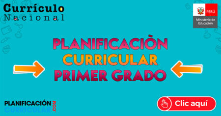 MODELO de PLANIFICACIÓN CURRICULAR 1er GRADO de PRIMARIA