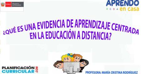 ¿QUE ES UNA EVIDENCIA DE APRENDIZAJE? AQUÍ EVIDENCIAS DE APRENDIZAJE EN LA EDUCACIÓN A DISTANCIA