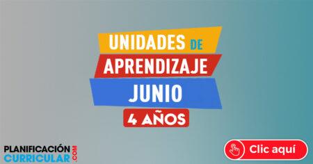 UNIDADES DE APRENDIZAJE JUNIO 4 AÑOS 2019