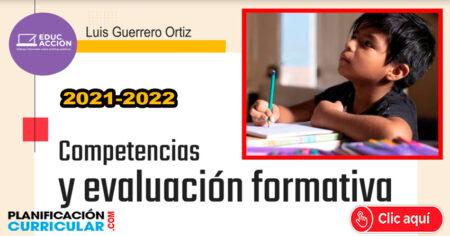 COMPETENCIAS Y EVALUACIÓN FORMATIVA 2021 - 2022