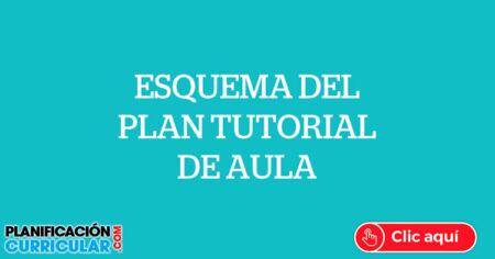 ESQUEMA DEL PLAN TUTORIAL DE AULA