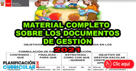 Descarga Materiales Completos Sobre Documentos de Gestión 2021