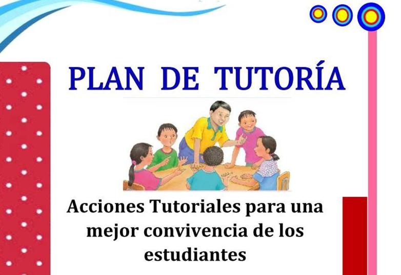 plan de tutoría de primaria