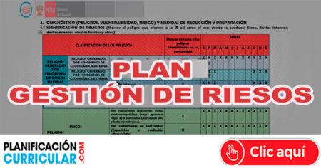 PLAN DE GESTIÓN DEL RIESGO DE DESASTRES DE LA I.E.I