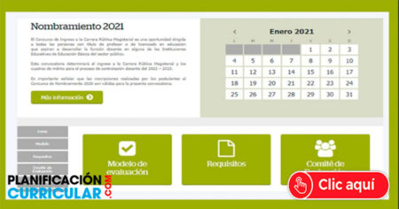 Plataforma virtual para nombramiento docente 2021