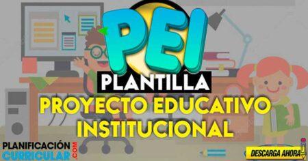 MODELOS DE PROYECTOS EDUCATIVOS INSTITUCIONALES (PEI) INICIAL-PRIMARIA-SECUNDARIA